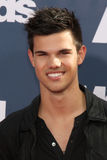 Taylor Lautner. LOS ANGELES - JUN 5:  Taylor Lautner arriving at the the 2011 MTV Movie Awards at Gibson Ampitheatre on June 5, 2011 in Los Angeles, CA Royalty Free Stock Photography