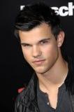 Taylor Lautner, das Durchgehen lizenzfreie stockbilder