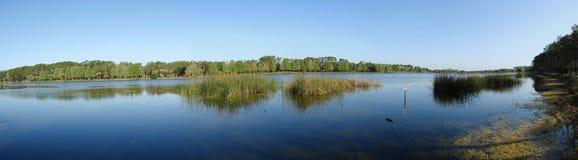 Taylor panoramiczny widok jeziora Zdjęcia Stock
