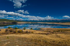 Taylor Park Colorado. Taylor Park Reservoir Colorado Rocky Mountains Jenkins mountain Grizzly peak Illinois mountain Royalty Free Stock Images