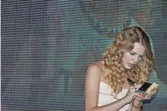 Taylor rápido - festival 2009 de CMA Imágenes de archivo libres de regalías