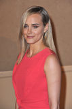 Taylor Schilling. LOS ANGELES, CA - AUGUST 13, 2013: Taylor Schilling, star of Orange is the New Black, at the Hollywood Foreign Press Association's 2013 Annual Royalty Free Stock Images
