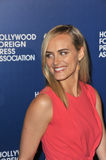 Taylor Schilling. LOS ANGELES, CA - AUGUST 13, 2013: Taylor Schilling, star of Orange is the New Black, at the Hollywood Foreign Press Association's 2013 Annual Stock Photos
