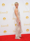 Taylor Schilling. LOS ANGELES, CA - AUGUST 25, 2014: Taylor Schilling at the 66th Primetime Emmy Awards at the Nokia Theatre L.A. Live downtown Los Angeles Stock Photos