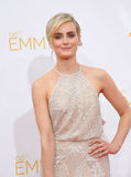 Taylor Schilling. LOS ANGELES, CA - AUGUST 25, 2014: Taylor Schilling at the 66th Primetime Emmy Awards at the Nokia Theatre L.A. Live downtown Los Angeles Royalty Free Stock Images
