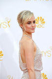 Taylor Schilling. LOS ANGELES, CA - AUGUST 25, 2014: Taylor Schilling at the 66th Primetime Emmy Awards at the Nokia Theatre L.A. Live downtown Los Angeles Royalty Free Stock Photo