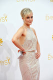 Taylor Schilling. LOS ANGELES, CA - AUGUST 25, 2014: Taylor Schilling at the 66th Primetime Emmy Awards at the Nokia Theatre L.A. Live downtown Los Angeles Royalty Free Stock Image