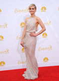 Taylor Schilling. LOS ANGELES, CA - AUGUST 25, 2014: Taylor Schilling at the 66th Primetime Emmy Awards at the Nokia Theatre L.A. Live downtown Los Angeles Royalty Free Stock Photos