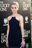 Taylor Schilling. UNITED STATES, HOLLYWOOD, APRIL 16, 2012: Taylor Schilling at the Los Angeles premiere of 'The Lucky One' held at the Grauman's Chinese Theater Stock Photography