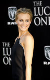 Taylor Schilling. UNITED STATES, HOLLYWOOD, APRIL 16, 2012: Taylor Schilling at the Los Angeles premiere of 'The Lucky One' held at the Grauman's Chinese Theater Stock Photos