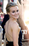 Taylor Schilling. UNITED STATES, HOLLYWOOD, APRIL 16, 2012: Taylor Schilling at the Los Angeles premiere of 'The Lucky One' held at the Grauman's Chinese Theater Royalty Free Stock Image