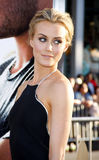Taylor Schilling. UNITED STATES, HOLLYWOOD, APRIL 16, 2012: Taylor Schilling at the Los Angeles premiere of 'The Lucky One' held at the Grauman's Chinese Theater Stock Photo