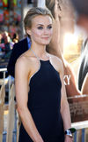 Taylor Schilling. UNITED STATES, HOLLYWOOD, APRIL 16, 2012: Taylor Schilling at the Los Angeles premiere of 'The Lucky One' held at the Grauman's Chinese Theater Royalty Free Stock Photo