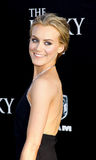 Taylor Schilling. UNITED STATES, HOLLYWOOD, APRIL 16, 2012: Taylor Schilling at the Los Angeles premiere of 'The Lucky One' held at the Grauman's Chinese Theater Royalty Free Stock Photos