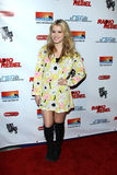 Taylor Spreitler. LOS ANGELES - FEB 15:  Taylor Spreitler arrives at the RADIO REBEL Telefilm Premiere at the AMC CityWalk Stadium 19 on February 15, 2012 in Los Stock Photography