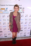 Taylor Spreitler. At the launch party for the partnership between WhatTheWorldNeeds.Org and Reading Partners, Sweetharts, Sherman Oaks, CA  11-05-11 Royalty Free Stock Photo