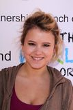 Taylor Spreitler. At the launch party for the partnership between WhatTheWorldNeeds.Org and Reading Partners, Sweetharts, Sherman Oaks, CA  11-05-11 Royalty Free Stock Images