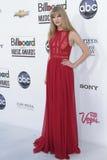 Taylor Swift bij de Aankomst van de Toekenning van de Muziek van het Aanplakbord van 2012, MGM Grand, Las Vegas, NV 05-20-12 Royalty-vrije Stock Foto