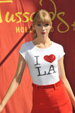 Taylor Swift Figure Stock Images