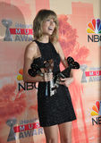 Taylor Swift. LOS ANGELES, CA - MARCH 29, 2015: Taylor Swift at the 2015 iHeart Radio Music Awards at the Shrine Auditorium Stock Images