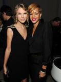 Taylor Swift and Rihanna Stock Images