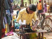 Taylor tribale indiano fotografie stock libere da diritti