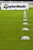 taylormade рядка практики шариков ngc2009 Стоковые Изображения RF