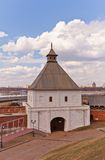 Taynitskaya Tower (1550) of Kazan Kremlin, Russia. UNESCO site Royalty Free Stock Photography