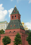 Taynitskaya (Water) Tower of Moscow Kremlin Royalty Free Stock Photos