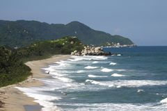 Tayrona, Colombia Royalty Free Stock Images