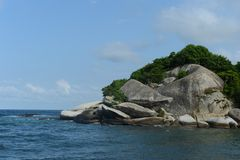 Tayrona, Colombia Royalty Free Stock Photos