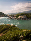 Tayrona Long View Royalty Free Stock Image