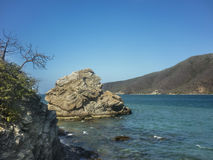 Tayrona National Park Bahia Concha Beach Stock Image