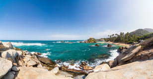 Tayrona Panorama Royalty Free Stock Photography