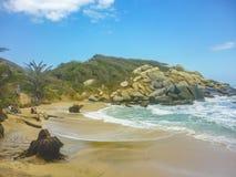Tayrona Park Cabo San juan Beach Stock Photo