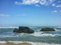 Tayrona Park Cabo San juan Beach Royalty Free Stock Images