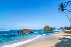 Tayrona parka narodowego plaża zdjęcie royalty free