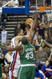 Tayshaun Prince Holds The Ball Stock Photography