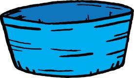 Tazón de fuente Imagen de archivo libre de regalías