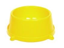 Tazón de fuente amarillo imágenes de archivo libres de regalías