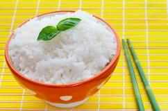Tazón de fuente de arroz Foto de archivo libre de regalías