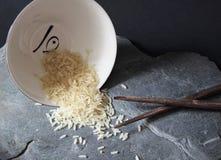 Tazón de fuente de arroz imagenes de archivo