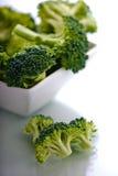 Tazón de fuente de bróculi Imagen de archivo