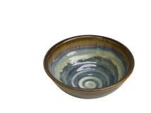 Tazón de fuente de cerámica Imagen de archivo libre de regalías
