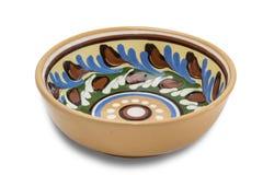 Tazón de fuente de cerámica Foto de archivo libre de regalías