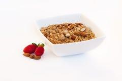 Tazón de fuente de cereal Imágenes de archivo libres de regalías