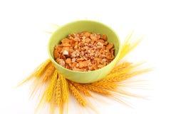 Tazón de fuente de cereal fotos de archivo libres de regalías