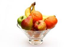 Tazón de fuente de fruta Imagenes de archivo