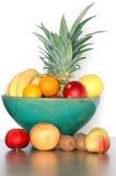 Tazón de fuente de fruta Imagen de archivo