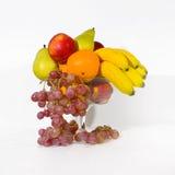 Tazón de fuente de frutas Fotografía de archivo
